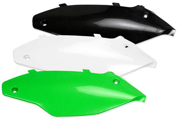 Side Number Plates for Kawasaki: KX450F (2012-15) / KX250F (2013-16) | DeCal Works