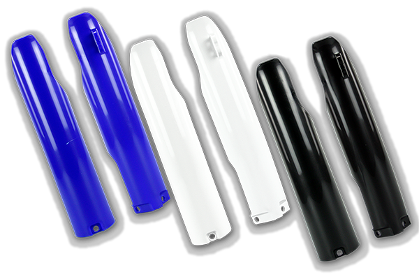 Lower Fork Guards for Yamaha: YZ125 (2 Stroke) (2007-05) / YZ125 (2 Stroke) (UFO Restyled Kit) (2007-05) / YZ250 (2 Stroke) (2007-05) / YZ250 (2 Stroke) (UFO Restyled Kit) (2007-05) / YZ250F (2007-05) / YZ450F (2007-05) | DeCal Works