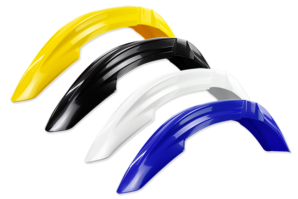 Front Fender for Yamaha: WR250F (2006-13) / WR450F (2006-11) / YZ125 (2 Stroke) [Stock Shape Plastic] (2006-14) / YZ250 (2 Stroke) [Stock Shape Plastic] (2006-14) / YZ250F (2006-09) / YZ450F (2006-09) | DeCal Works