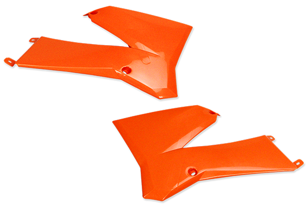 Rad Cover Set for KTM: SX105 (2 Stroke) (2003-05) / SX85 (2 Stroke) (2003-05) | DeCal Works