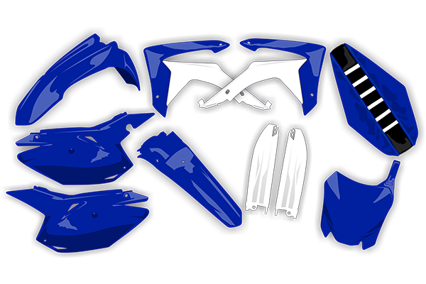 Complete Plastic Kit With Lower Forks & Seat Cover for Yamaha: YZ250F (2006-07) / YZ450F (2006-07) | DeCal Works