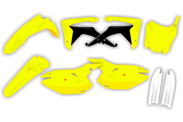 Plastic Kit Level 2 for Suzuki: RMZ250 (2018-10) | DeCal Works