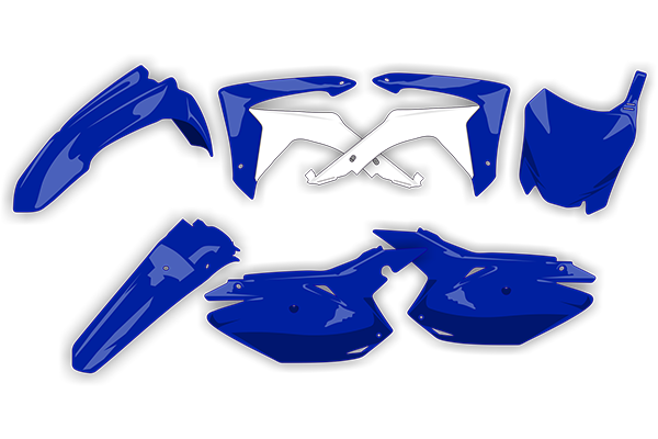 Plastic Kit Level 3 for Yamaha: YZ125 (2 Stroke) (2015-19) / YZ250 (2 Stroke) (2015-19) / YZ250X (2 Stroke) (2016-19) | DeCal Works