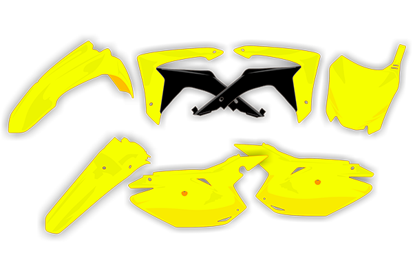 Complete Plastic Kit for Suzuki: RMZ250 (2010-18) | DeCal Works